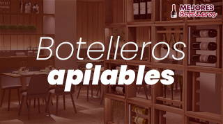 mejores botelleros apilables