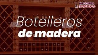 mejores botelleros de madera