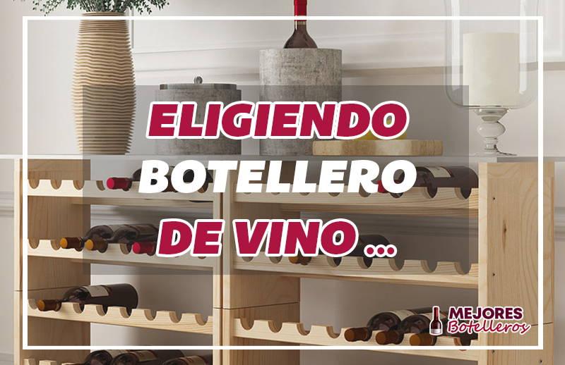 que botellero de vino comprar