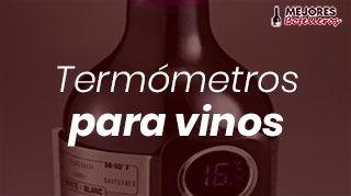 termómetros para botellas de vino