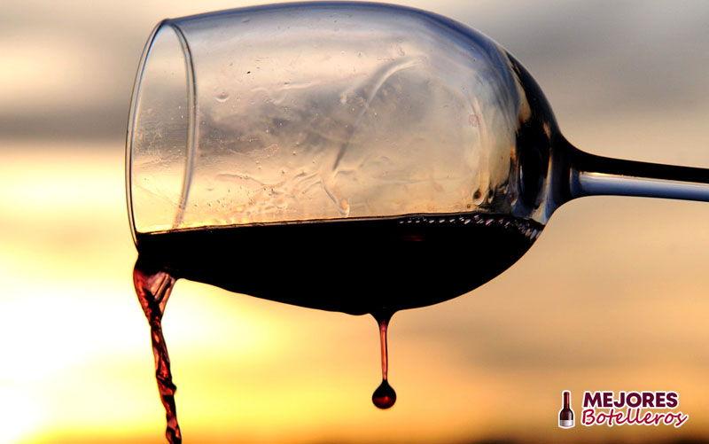 forma de la copa de vino