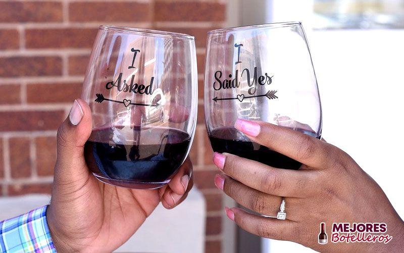 para que vas a utilizar la copa de vino