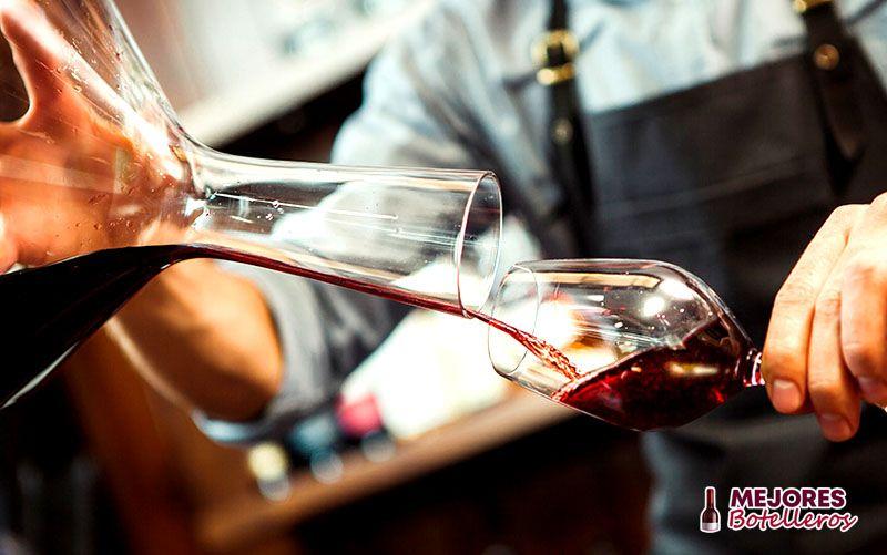 decantador de vino capacidad