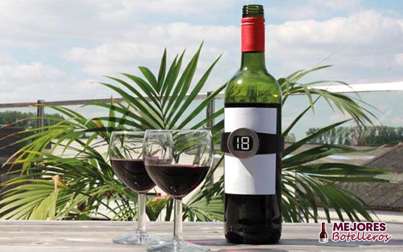 rango de temperatura de los termómetros de vino